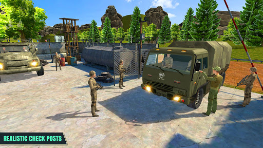 Army Truck Driver : Offroad screenshot 1