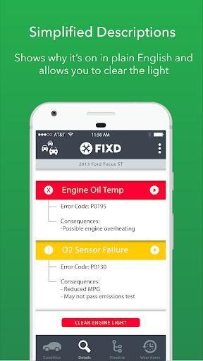 FIXD - Vehicle Health Monitor screenshot 2