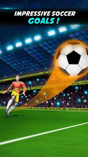 Crazy Shoot Soccer Kicks: Mini Flick Football Game screenshot 4