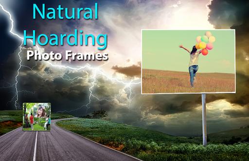 Natural Hoarding Photo Frames - green beauty style 2 تصوير الشاشة