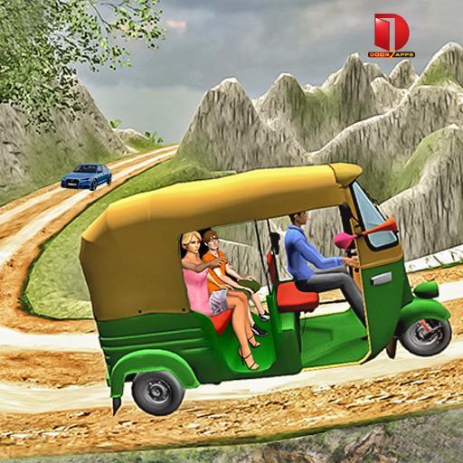 Mountain Auto Tuk Tuk Rickshaw : New Games 2021 आइकन