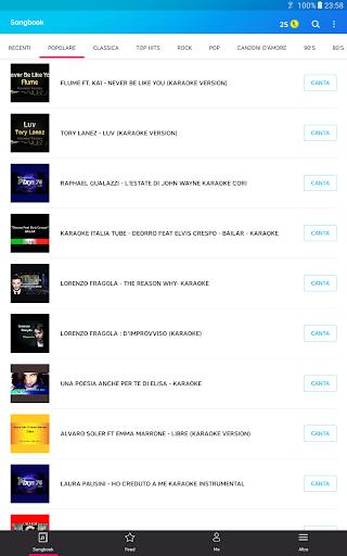 Karaoke di canzoni italiane screenshot 12