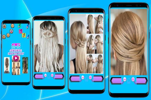 Hairstyles (Step by Step) screenshot 1