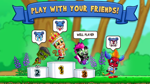 Fun Run 3 - Multiplayer Games screenshot 2