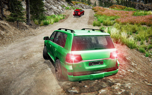 Offroad Prado Car 4X4 Mountain Drift Drive 3D screenshot 2