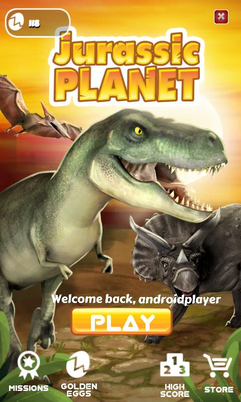 Jurassic Planet -Dinosaur Game 1 تصوير الشاشة