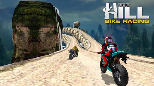 Hill Top Bike Racing 3 تصوير الشاشة