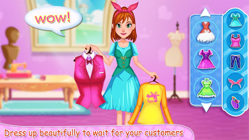 👸✂️Royal Tailor Shop 3 - Princess Clothing Shop screenshot 5