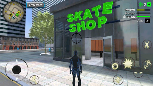 Black Hole Hero : Vice Vegas Rope Mafia screenshot 14