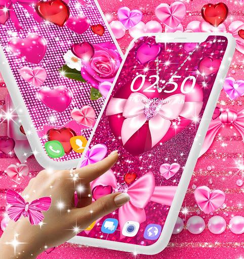 Wallpapers for girls 1 تصوير الشاشة