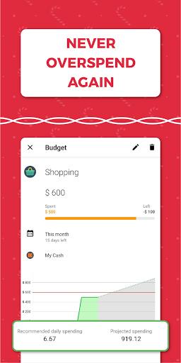 Money Lover: Expense Manager & Budget Tracker 4 تصوير الشاشة