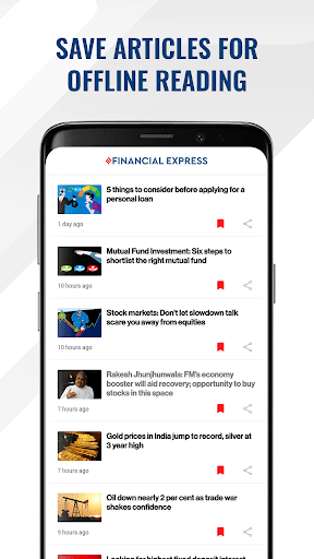 Financial Express - Latest Market News   ePaper screenshot 4
