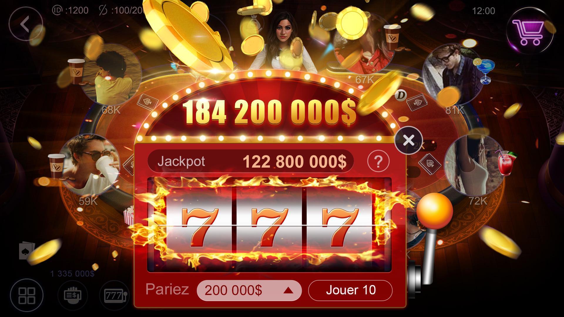 Poker France HD – Artrix Poker 2 تصوير الشاشة