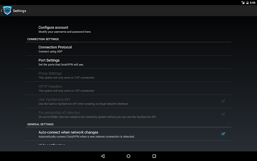 DroidVPN - Easy Android VPN screenshot 6
