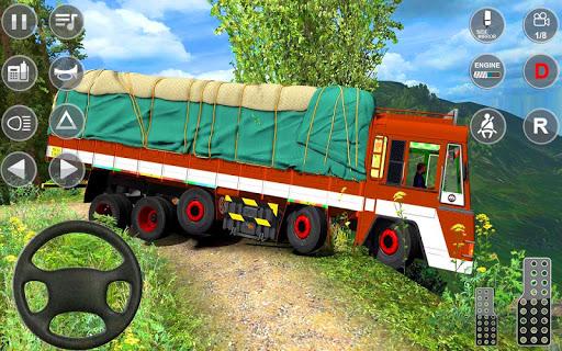 Indian Truck Spooky Stunt : Cargo Truck Driver screenshot 4