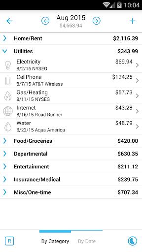 Home Budget with Sync Lite 3 تصوير الشاشة