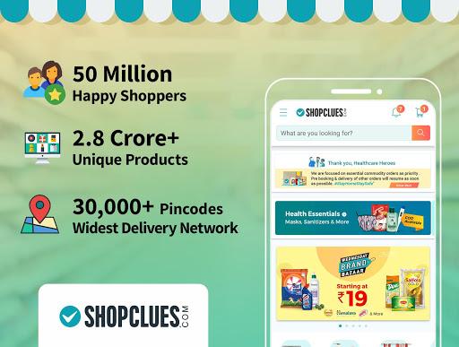 ShopClues: Online Shopping App screenshot 1