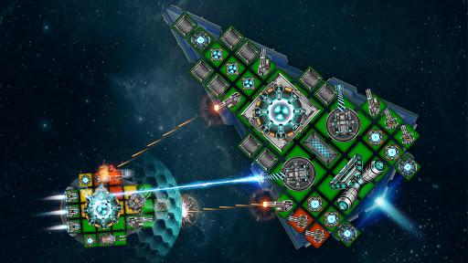 Space Arena: Build a spaceship & fight 7 تصوير الشاشة