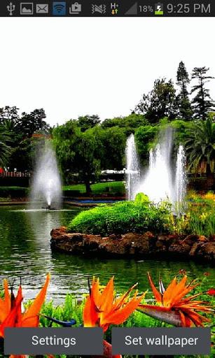 Park Fountains LWP screenshot 1