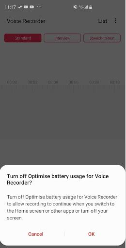 Samsung Voice Recorder screenshot 5