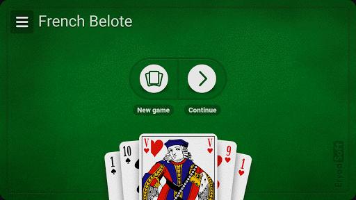 French Belote - Free 2 تصوير الشاشة