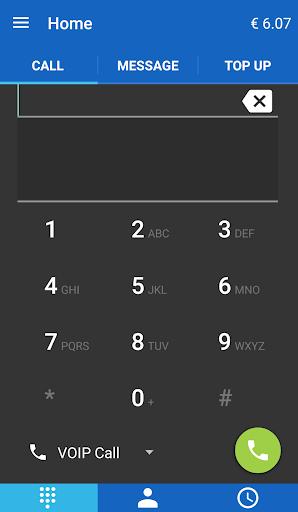 Jumblo - Mobile Sip calls 4 تصوير الشاشة