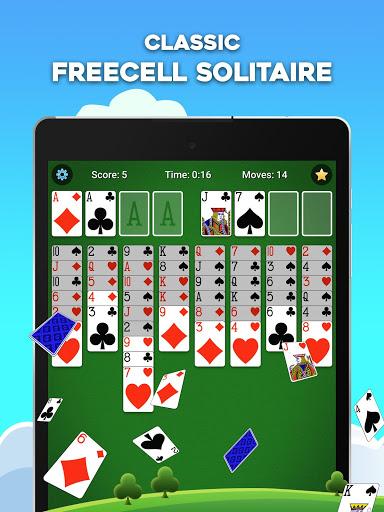 FreeCell Solitaire 12 تصوير الشاشة