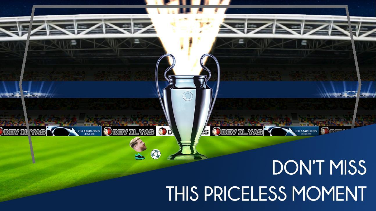 Head FootBall: Champions League 2018 5 تصوير الشاشة