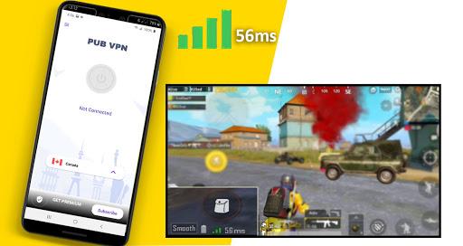 VPN For PUBG Mobile -PUB  VPN screenshot 1