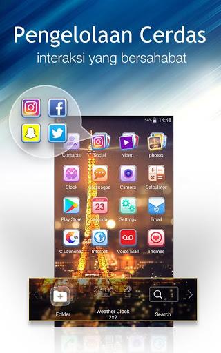 Peluncur C: Tema DIY, sembunyikan aplikasi screenshot 4