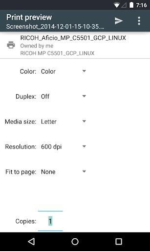 Cloud Print screenshot 5