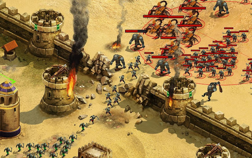 Throne Rush 7 تصوير الشاشة