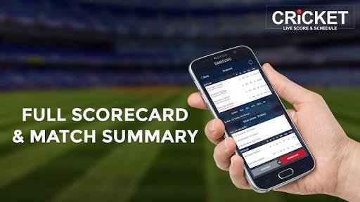 Cricket Live Score & Schedule 5 تصوير الشاشة