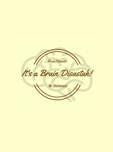 Brain Disaster! Mr. Dictionary! स्क्रीनशॉट 12