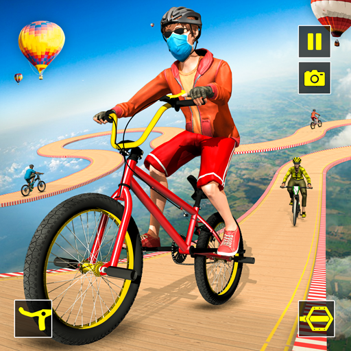 Reckless Rider- Extreme Stunts Race Free Game 2020 icon