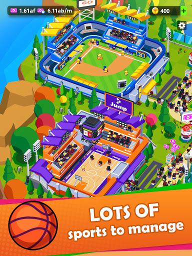 Sports City Tycoon - Idle Sports Games Simulator screenshot 10