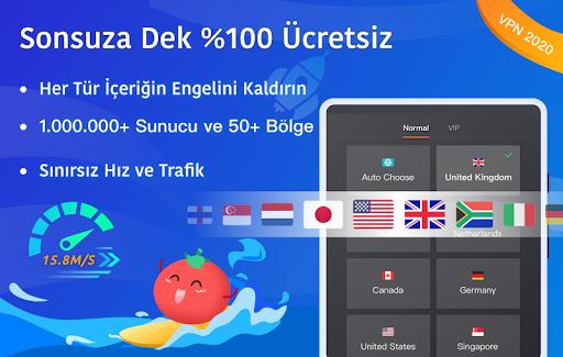 Ücretsiz VPN Tomato | En Hızlı Ücretsiz VPN Proxy screenshot 6