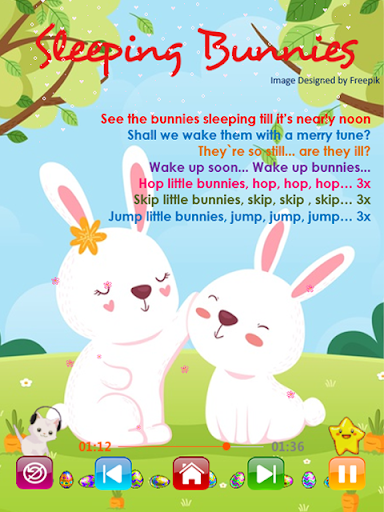Kids Songs - Offline Nursery Rhymes & Baby Songs screenshot 6