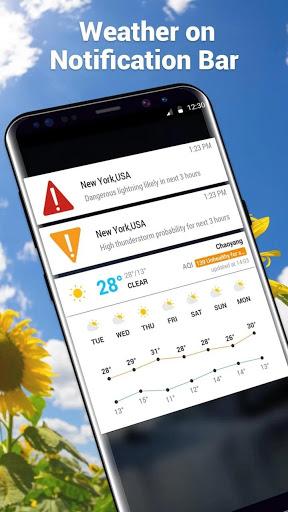 Amber Weather&Radar Free screenshot 5