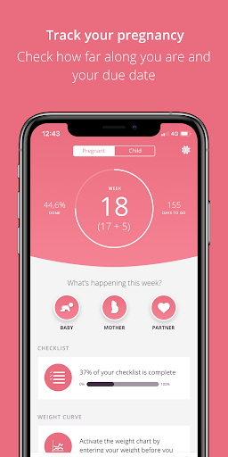 Pregnancy & Baby Tracker Free: Preglife screenshot 3