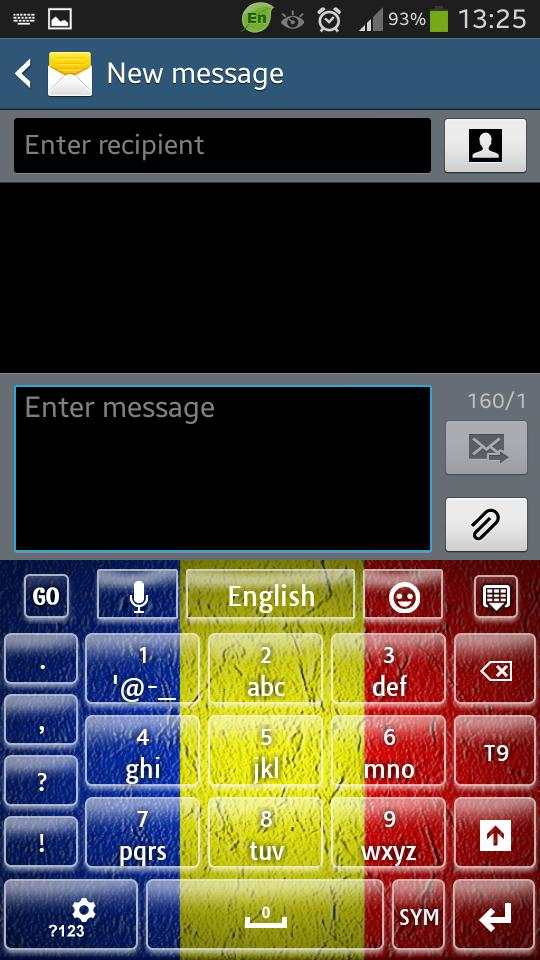Romania Keyboard screenshot 4