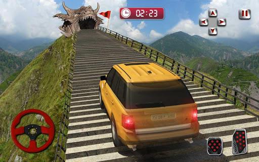 Cruiser Car Stunts: Dragon Road Driving Simulator screenshot 16