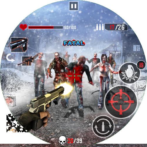 Zombie Killing - Call of Killers 12 تصوير الشاشة