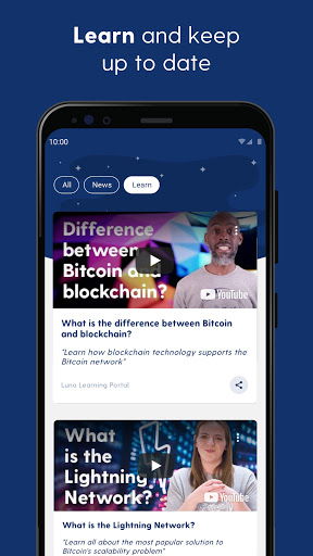 Luno: Buy Bitcoin, Ethereum and Cryptocurrency 5 تصوير الشاشة