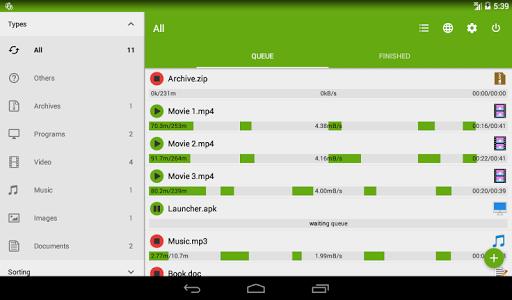 Advanced Download Manager & Torrent downloader screenshot 10