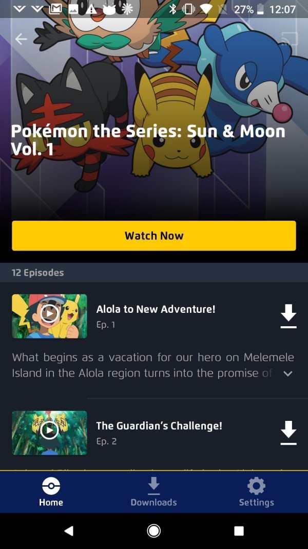 Pokémon TV screenshot 3