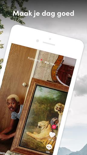 TikTok: Video's, Muziek & Lives screenshot 1