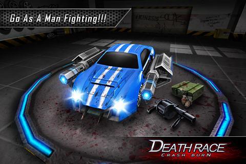 Fire Death Race:Crash Burn 3 تصوير الشاشة
