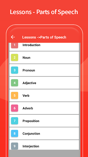 English Grammar Learning Free Offline Grammar Book screenshot 5
