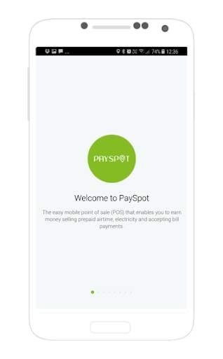 PaySpot : Point Of Sale screenshot 1